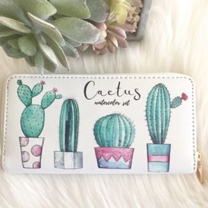 Handbags - LAST ONE!! Cactus Print Wallet